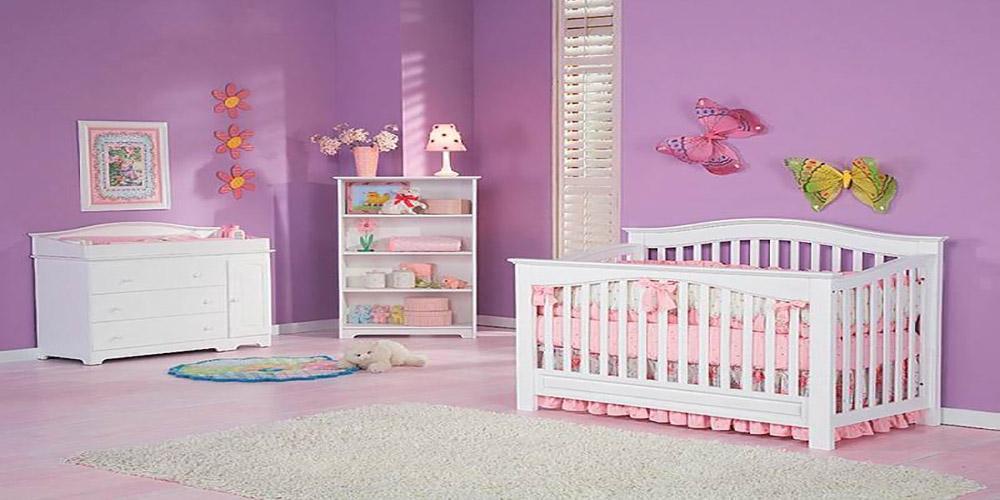 چگونگی طراحی دکوراسیون سیسمونی نوزاد دختر
