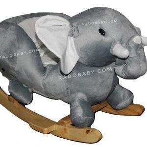 راکر کودک طرح فیل رادو