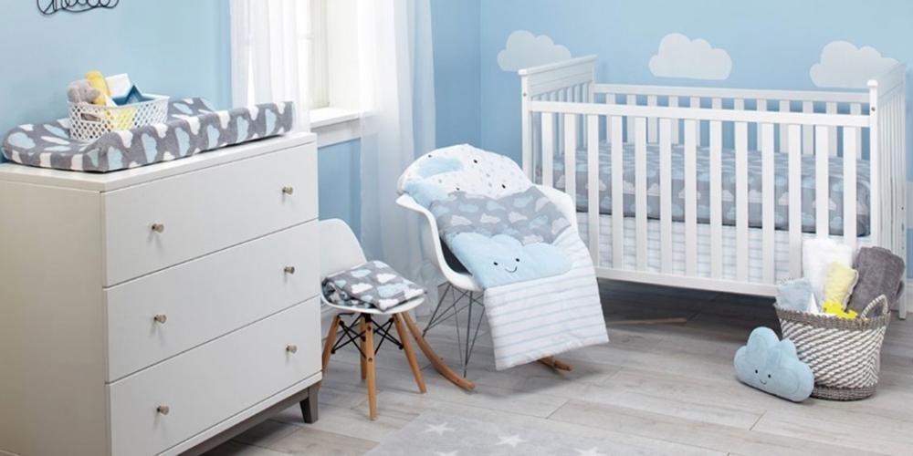 چگونگی طراحی دکوراسیون سیسمونی نوزاد پسر